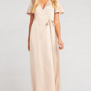 Noelle Flutter Wrap Dress from Show Me Your MuMu
